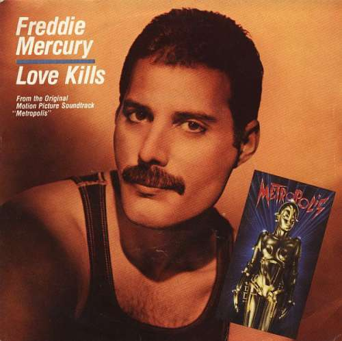 Bild Freddie Mercury - Love Kills (7, Single) Schallplatten Ankauf