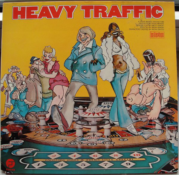 Cover Various - Heavy Traffic (LP) Schallplatten Ankauf