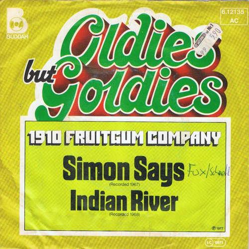 Bild 1910 Fruitgum Company - Simon Says / Indian River (7, Single) Schallplatten Ankauf