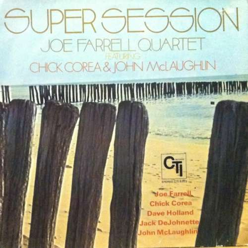Cover Joe Farrell Quartet Featuring Chick Corea & John McLaughlin - Super Session (LP, Album) Schallplatten Ankauf
