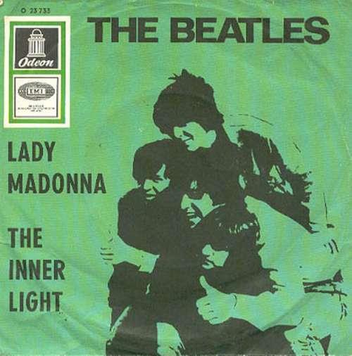 Cover The Beatles - Lady Madonna / The Inner Light (7, Single) Schallplatten Ankauf