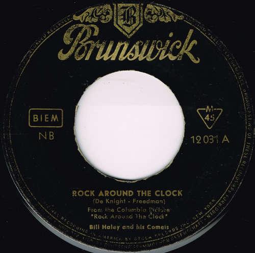 Cover zu Bill Haley And His Comets - Rock Around The Clock (7, Single) Schallplatten Ankauf