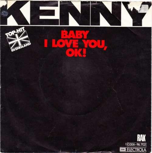 Bild Kenny (3) - Baby I Love You, OK! (7, Single) Schallplatten Ankauf