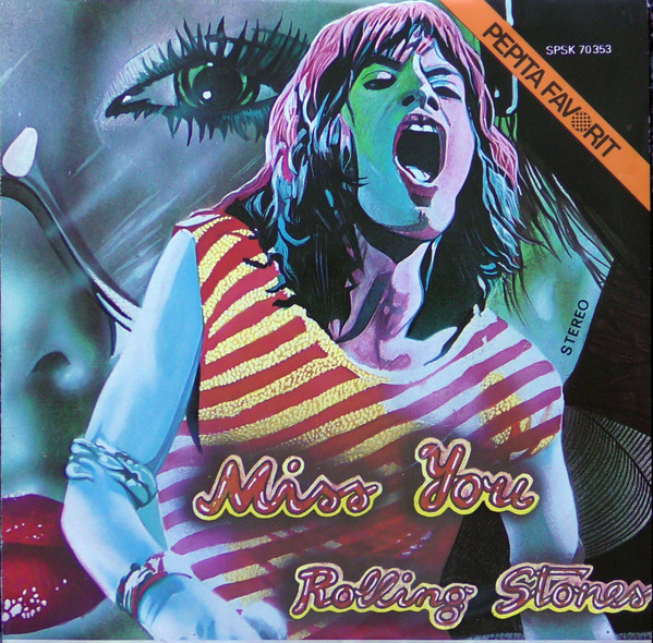 Cover Rolling Stones* - Miss You (7, Single) Schallplatten Ankauf
