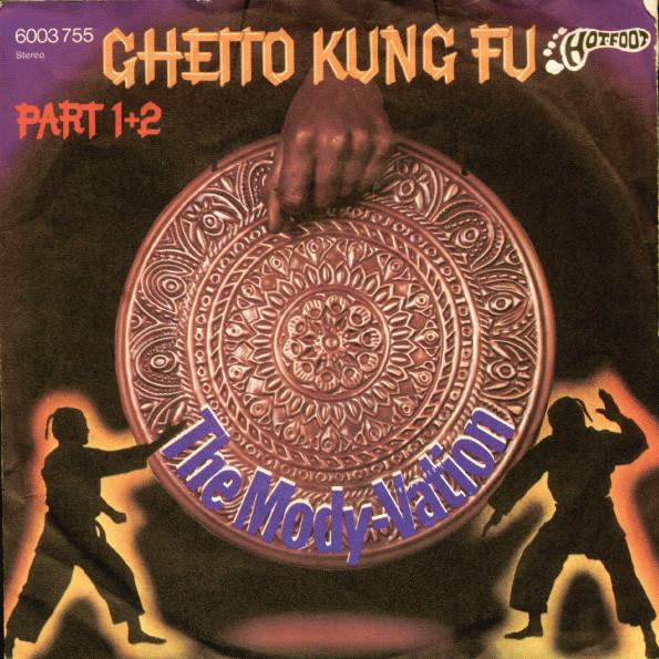 Cover Mody-Vation - Ghetto Kung Fu (7, Single) Schallplatten Ankauf