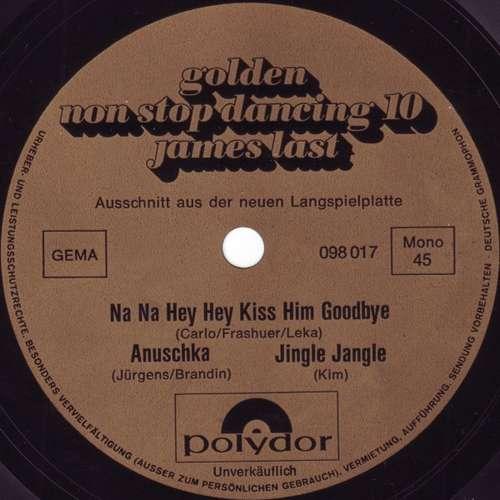 Cover James Last - Golden Non Stop Dancing 10 - Ausschnitt Aus Der Neuen Langspielplatte (Flexi, 7, S/Sided, Promo, Mono) Schallplatten Ankauf