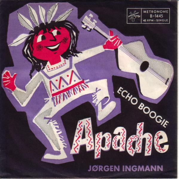 Bild Jørgen Ingmann - Apache (7, Single) Schallplatten Ankauf