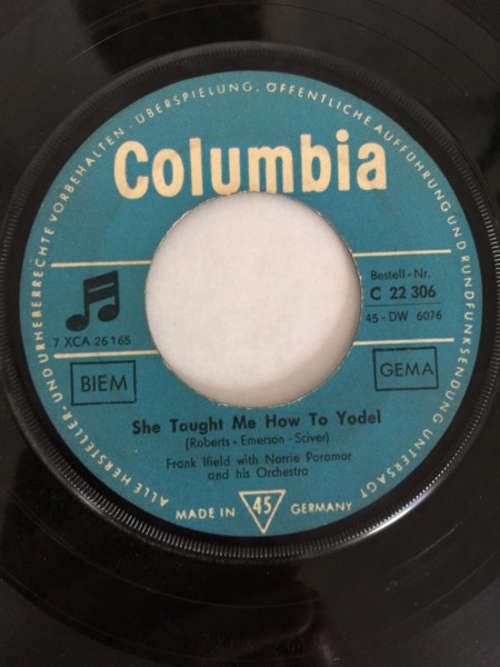 Bild Frank Ifield With Norrie Paramor And His Orchestra - Lovesick Yodel Blues (7, Single) Schallplatten Ankauf