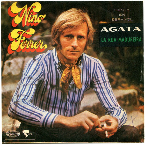Bild Nino Ferrer - Agata  (7, Single) Schallplatten Ankauf