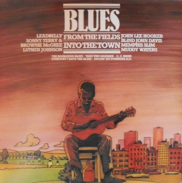 Cover zu Various - Blues - From The Fields Into The Town (LP, Comp) Schallplatten Ankauf