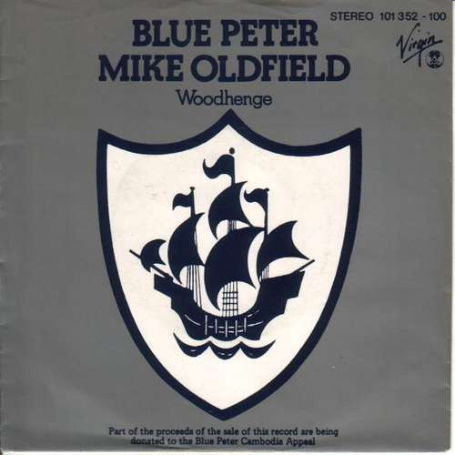 Cover Mike Oldfield - Blue Peter (7, Single) Schallplatten Ankauf