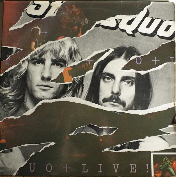 Cover Status Quo - Live (2xLP, Album, Gat) Schallplatten Ankauf