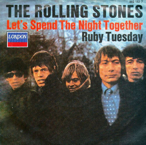 Cover The Rolling Stones - Let's Spend The Night Together / Ruby Tuesday (7, Single, RE) Schallplatten Ankauf
