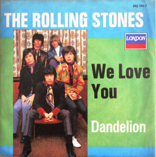 Cover The Rolling Stones - We Love You / Dandelion (7, Single, RE) Schallplatten Ankauf