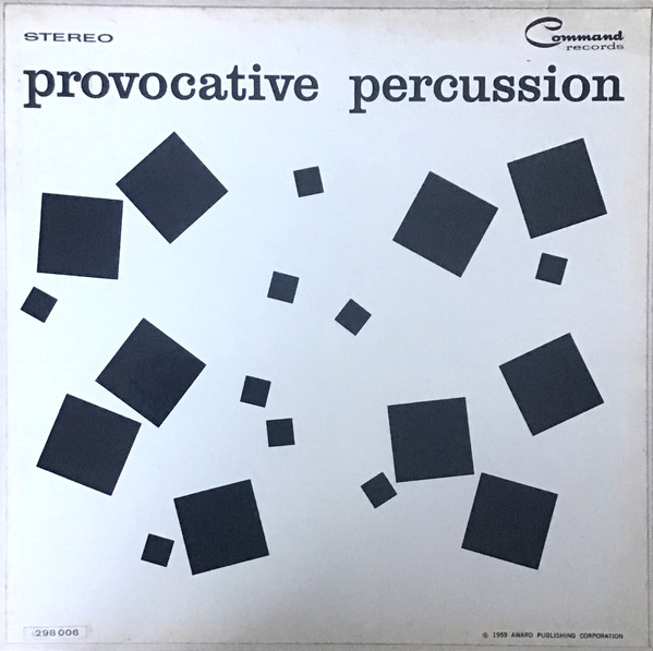 Cover The Command All-Stars - Provocative Percussion (LP, Album, Gat) Schallplatten Ankauf