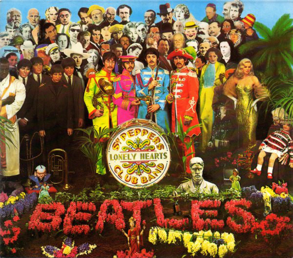 Cover The Beatles - Sgt. Pepper's Lonely Hearts Club Band (CD, Album, Sli) Schallplatten Ankauf