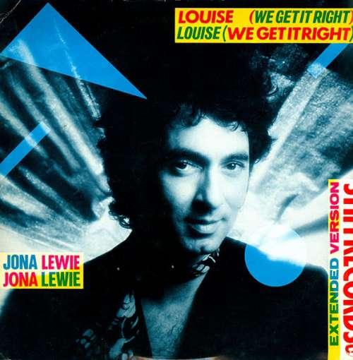 Cover Jona Lewie - Louise (We Get It Right)  (10, Single) Schallplatten Ankauf