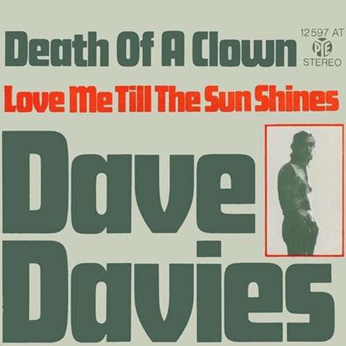 Bild Dave Davies - Death Of A Clown (7, Single, RE) Schallplatten Ankauf