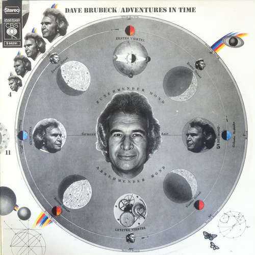 Cover Dave Brubeck - Adventures In Time (2xLP, Album) Schallplatten Ankauf