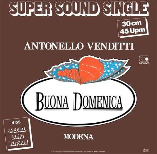 Bild Antonello Venditti - Buona Domenica (12, Maxi) Schallplatten Ankauf