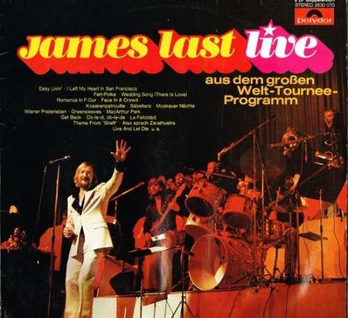Cover James Last - Live (2xLP) Schallplatten Ankauf