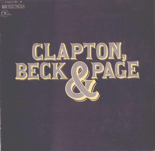 Cover zu Clapton*, Beck* & Page* - Clapton, Beck & Page (LP, Comp) Schallplatten Ankauf