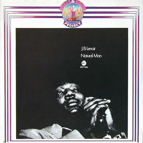 Bild J.B. Lenoir - Natural Man (LP, Comp, RE) Schallplatten Ankauf