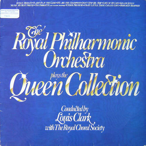 Cover The Royal Philharmonic Orchestra - The Royal Philharmonic Orchestra Plays The Queen Collection (LP, Album) Schallplatten Ankauf