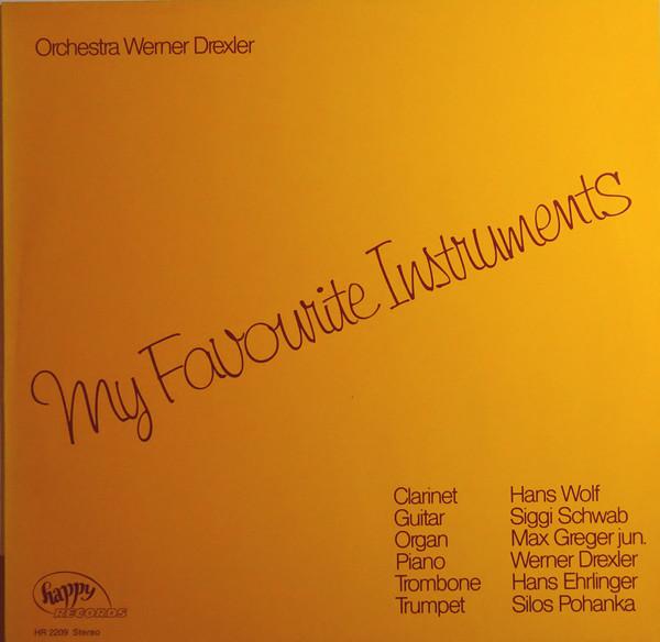 Cover Orchestra Werner Drexler - My Favourite Instruments (LP) Schallplatten Ankauf