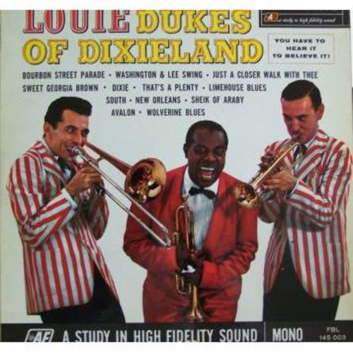 Bild Louis Armstrong And The Dukes Of Dixieland - Louie And The Dukes Of Dixieland (LP, Album, Mono) Schallplatten Ankauf