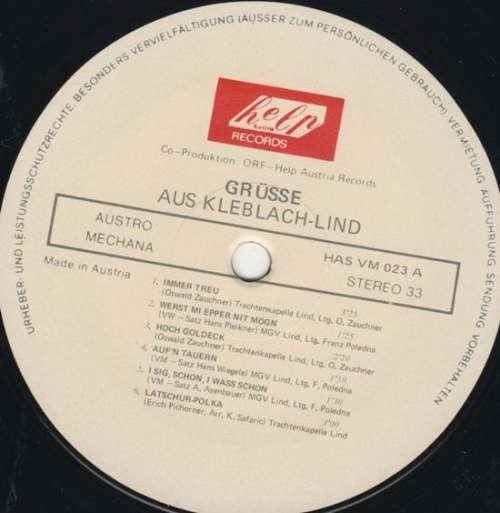 Bild Trachtenkapelle Lind / MGV Lind* - Grüsse Aus Kleblach / Lind (LP) Schallplatten Ankauf