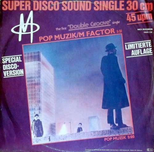 Bild M (2) - Pop Muzik / M Factor (Special Disco-Version) (12, Maxi, Ltd, Dou) Schallplatten Ankauf