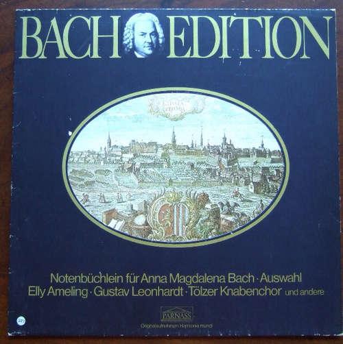 Cover zu J. S. Bach* / Elly Ameling, Tölzer Knabenchor, Gustav Leonhardt - Bach Edition: Notenbüchlein Für Anna Magdalena Bach (Auswahl) (LP, Album) Schallplatten Ankauf