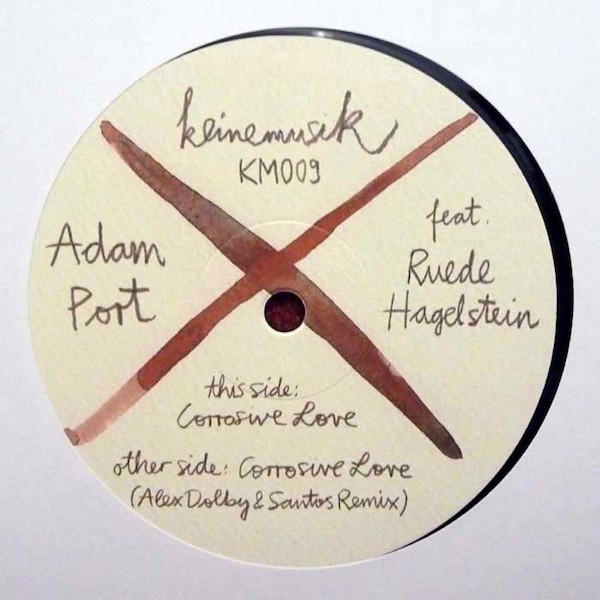 Cover Adam Port Feat. Ruede Hagelstein - Corrosive Love (12) Schallplatten Ankauf