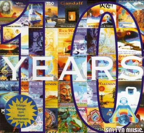 Cover Various - 10 Years (CD, Comp) Schallplatten Ankauf
