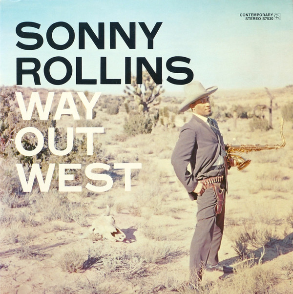 Cover Sonny Rollins - Way Out West (LP, Album, RE) Schallplatten Ankauf