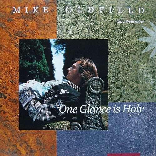 Bild Mike Oldfield With Adrian Belew - One Glance Is Holy (12, Maxi) Schallplatten Ankauf
