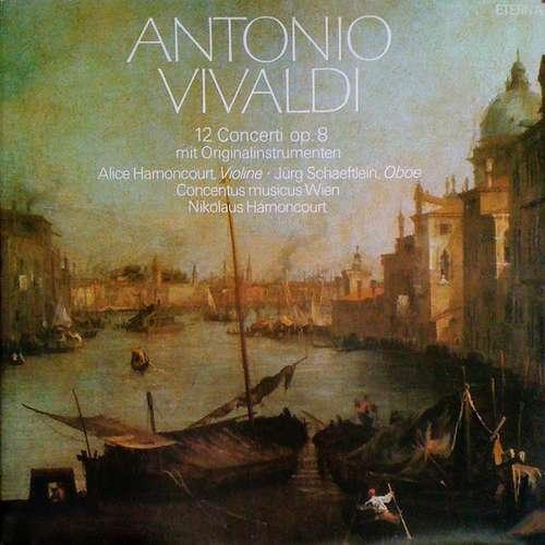 Bild Antonio Vivaldi / Alice Harnoncourt, Jürg Schaeftlein, Concentus Musicus Wien, Nikolaus Harnoncourt - 12 Concerti Op. 8 Mit Originalinstrumenten (2xLP, Gat) Schallplatten Ankauf