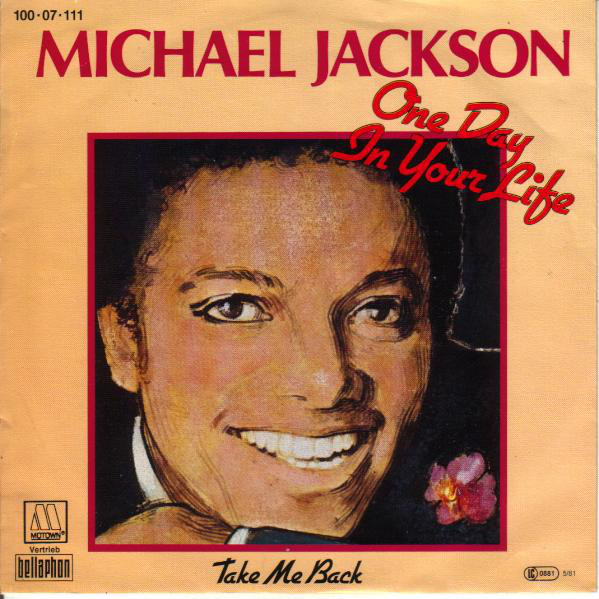 Cover zu Michael Jackson - One Day In Your Life / Take Me Back (7, Single) Schallplatten Ankauf