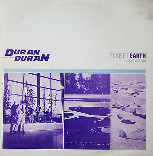 Cover Duran Duran - Planet Earth (Night Version) (12, RP, Bur) Schallplatten Ankauf