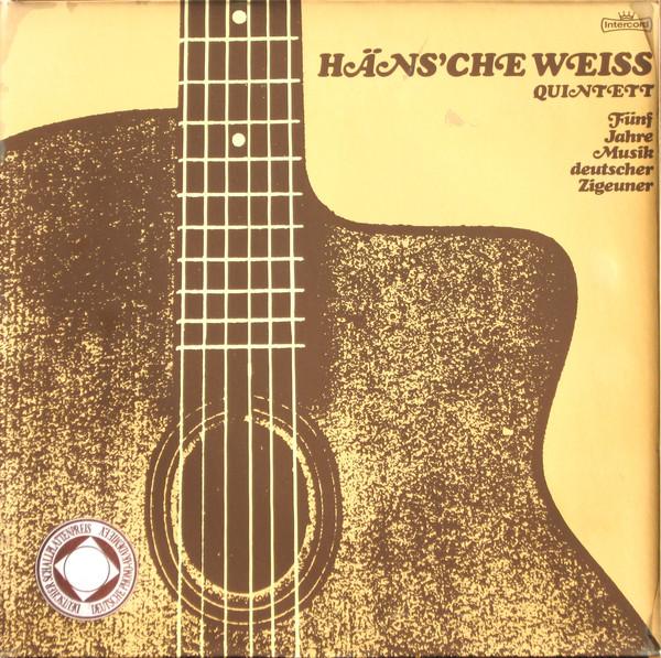 Cover Häns'che Weiss Quintett - Fünf Jahre Musik Deutscher Zigeuner (LP) Schallplatten Ankauf