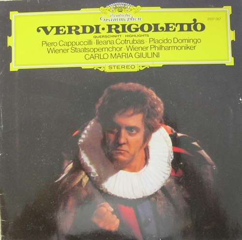 Cover Verdi* - Rigoletto (LP) Schallplatten Ankauf