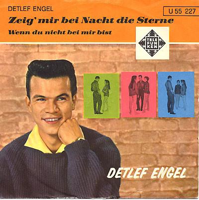 Cover Detlef Engel - Zeig' Mir Bei Nacht Die Sterne (7, Single) Schallplatten Ankauf