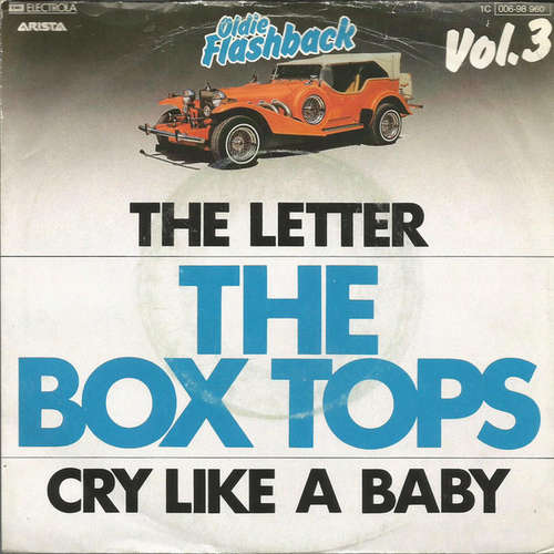 Bild The Box Tops* - The Letter / Cry Like A Baby (7, Single, RE) Schallplatten Ankauf