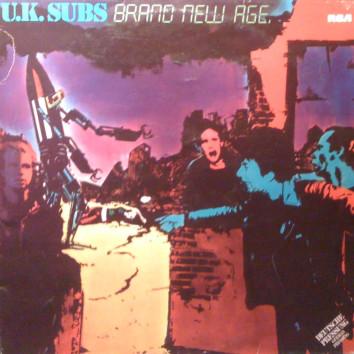 Cover zu U.K. Subs* - Brand New Age (LP, Album) Schallplatten Ankauf