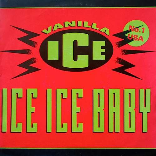 Cover Vanilla Ice - Ice Ice Baby (7, Single) Schallplatten Ankauf