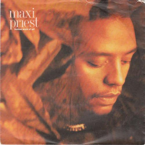 Cover Maxi Priest - Human Work Of Art (7, Single) Schallplatten Ankauf