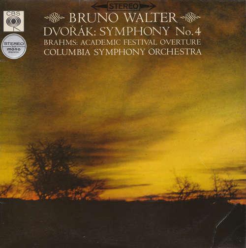 Bild Dvořák* / Brahms* - Bruno Walter, Columbia Symphony Orchestra - Symphony No. 4 / Academic Festival Overture (LP) Schallplatten Ankauf