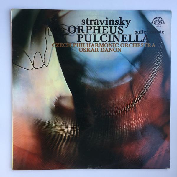 Bild Igor Stravinsky, Czech Philharmonic Orchestra*, Oskar Danon - Orpheus / Pulcinella Ballet Music (LP, RP) Schallplatten Ankauf