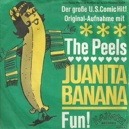 Bild The Peels - Juanita Banana (7, Single, Mono) Schallplatten Ankauf